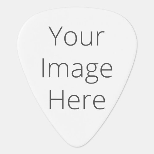 Create Your Own Standard Guitar Pick