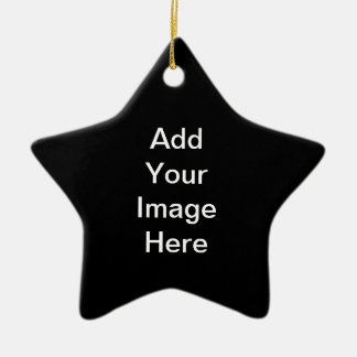 Create Your Own Star Ornament Black