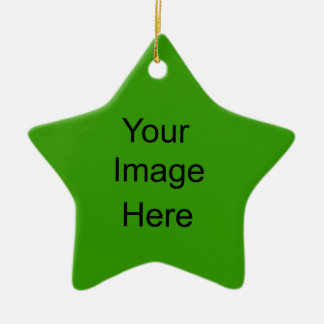 Create Your Own Star Ornament Dark Green