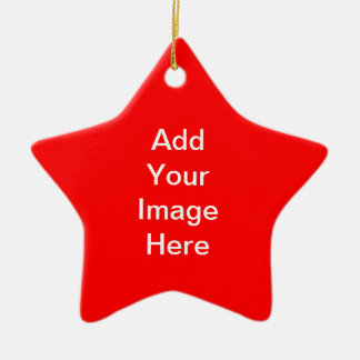 Create Your Own Star Ornament Red