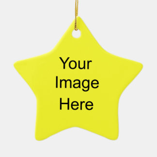 Create Your Own Star Ornament Yellow