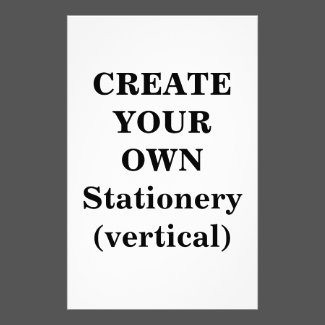 Create Your Own Stationery (vertical)