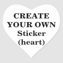 create, your, own, sticker, heart, make, design, template, Sticker with custom graphic design