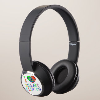 Create your own Stronger together USA Hillary Headphones