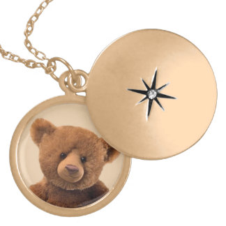 Create Your Own Stuffed Animal Locket Necklace