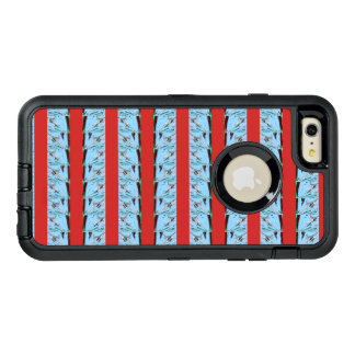 Create Your Own Summer blue waves latest design OtterBox Defender iPhone Case