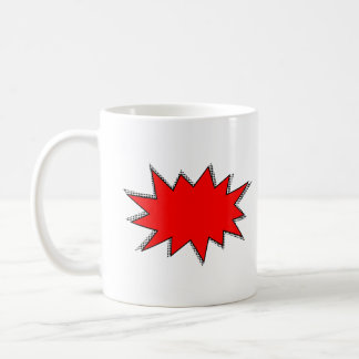 Create Your Own Superhero Onomatopoeias! POW! Coffee Mug