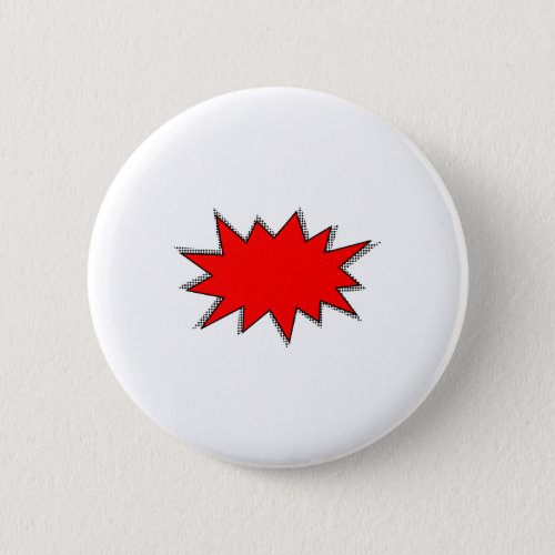 Create Your Own Superhero Onomatopoeias POW Pinback Button