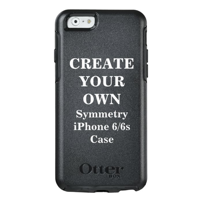 create iphone case create your own symmetry iphone 6 6s zazzle 1851