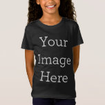 """Create Your Own T-Shirt<br><div class=""""desc"""">Design your own custom clothing on Zazzle. You can customize this LAT t-shirt to make it your own. Add your own images,  drawings or designs for some seriously stylish clothing that's made for you! Simply click """"Customize"""" to get started.</div>"""