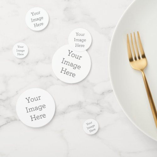 Create Your Own Table Confetti