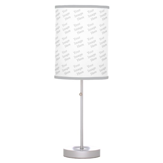 Create your own table lamp zazzle for Decorate your own lampshade