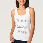 "Create Your Own Tank Top<br><div class=""desc"">Add your own text or design to personalize your very own racerback tank top! Simply click ""Customize"" to get started.</div>"