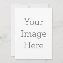 Create Your Own Teacher Picture Invitation