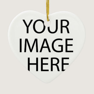 Create your own text and design :-) ceramic ornament