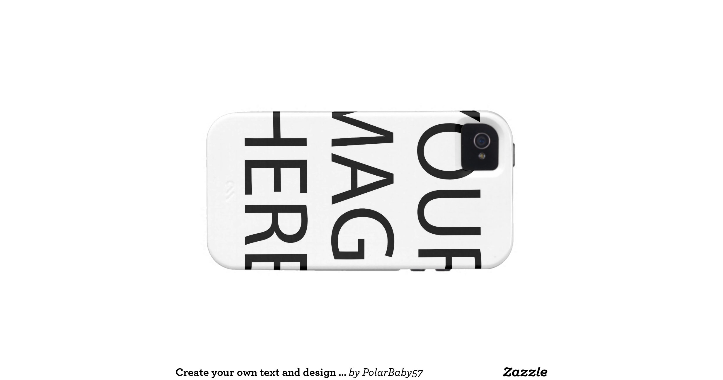 create your own text and design iphone 4 cover    Iphone 4 Covers Design Your Own