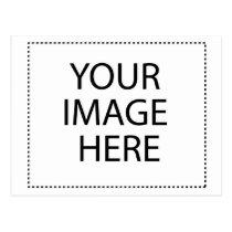 caregiver, military, education, birthday, wedding, school, children, autism, sports, babyshower, Postcard with custom graphic design
