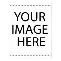 caregiver, military, education, birthday, wedding, school, children, autism, sports, baby-shower, Postcard with custom graphic design