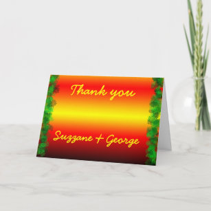 create your own thank you card - Make Your Own Thank You Cards