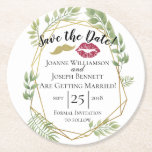 """Create your own thank you coaster, save the date round paper coaster<br><div class=""""desc"""">Create your own thank you coaster</div>"""
