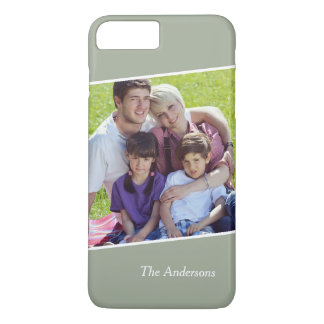 Create Your Own Thanksgiving Family Photo iPhone 7 Plus Case