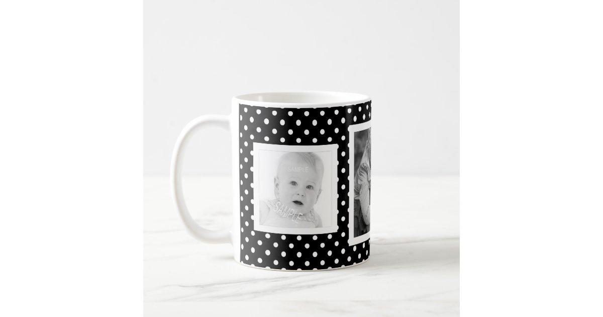 Create Your Own Three Square Photos Coffee Mug Zazzle