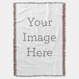 Create Your Own Throw Blanket