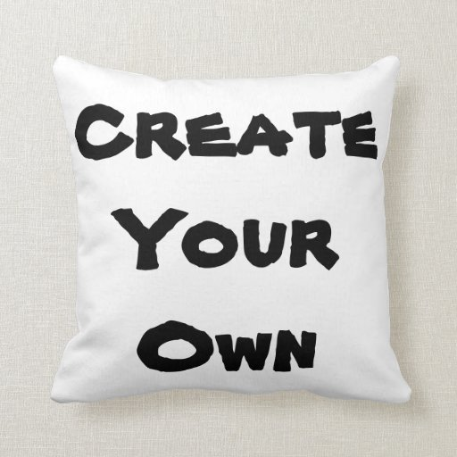how to make your own throw pillows