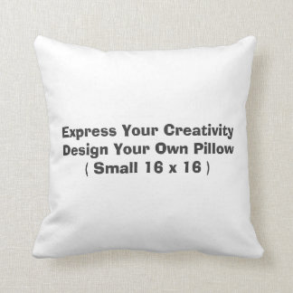Create Your Own Throw Pillow (S)