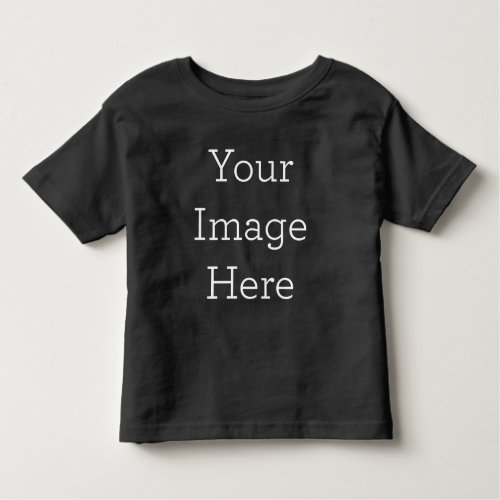 Create Your Own Toddler T_shirt