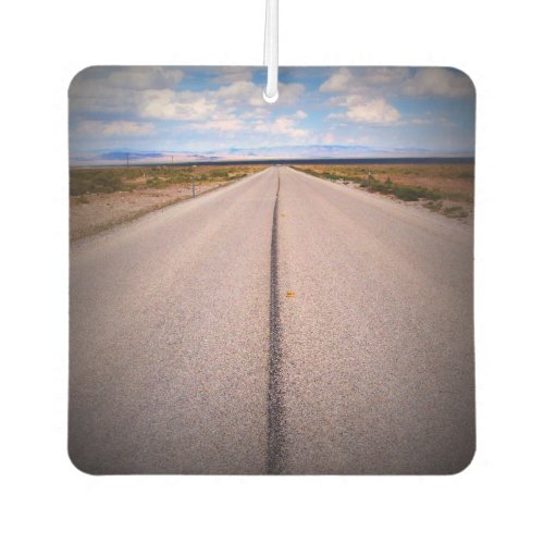 Create Your Own Two_Sided Square Photo Car Air Freshener
