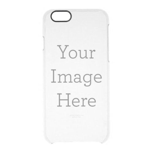 Create Your Own Clear iPhone 66S Case