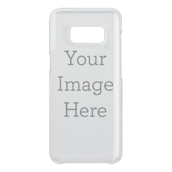 Create Your Own Uncommon Samsung Galaxy S8 Case by zazzle_templates at Zazzle
