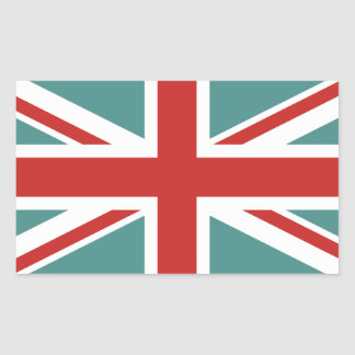 Create Your Own Union Jack Rectangular Sticker