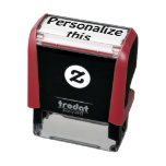 Create your own unique one of a kind personalized self-inking stamp<br><div class='desc'>Easy create your own personalized unique custom self inking rubber stamp - ideal for business or pleasure - STAMPS from Ricaso</div>