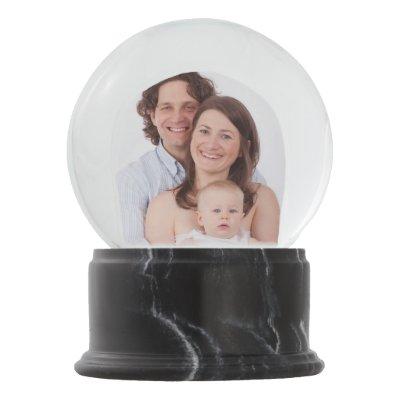 Create Your Own Snow Globe Online Custom Photo Zazzlecom