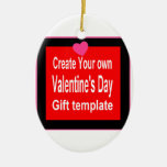 Create Your Own Valentine Gift Ornaments