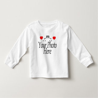 CREATE YOUR OWN VALENTINE'S DAYPHOTO TODDLER T-SHIRT