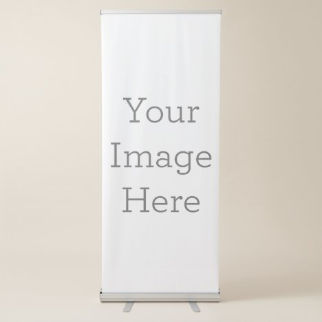 Create Your Own Vertical Retractable Banner
