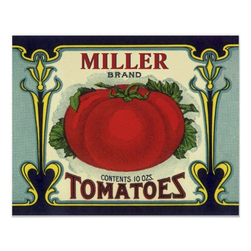 Create Your Own Vintage Fruit Crate Label Art