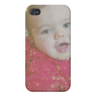 Create Your Own Vintage Photo  iPhone 4/4S Cover