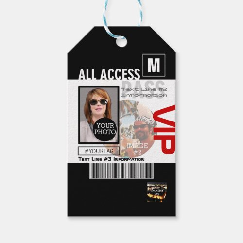 Create Your Own VIP Pass 8 ways to Personalize it Gift Tags