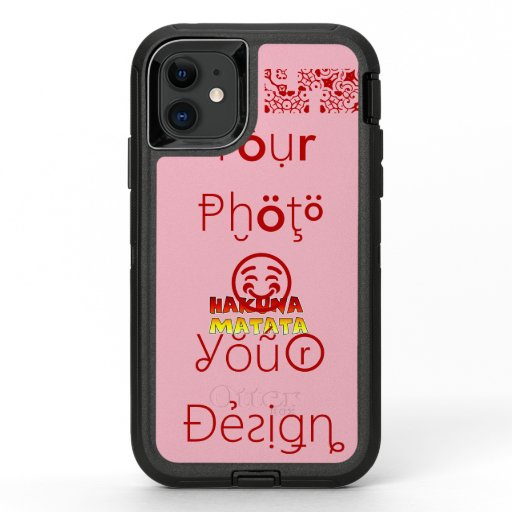 Create Your Own Vision Your Design OtterBox Defender iPhone 11 Case