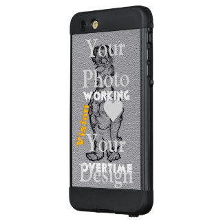 Create your own vision your overtime LifeProof NÜÜD iPhone 6 plus case