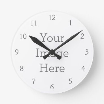 zazzle_templates Create Your Own Wall Clock