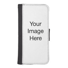 Create Your Own Wallet Phone Case For Iphone Se/5/5s at Zazzle