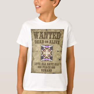 Create Your own Wanted Peace T-Shirt
