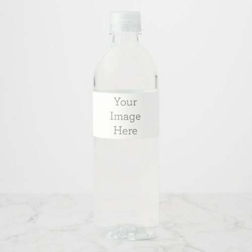 Create Your Own Water Bottle Label 825 x 175