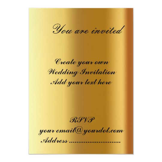 Create Your Own Wedding Invitations: Create Your Own Wedding Invitation 2