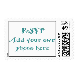 Create your Own Wedding Invitation Photo Postage Stamp